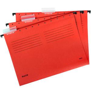 Leitz 6515 Askılı Dosya Telsiz Kırmızı 5'li Paket