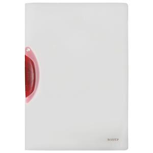 Leitz A4 Color Clip Magic Sıkıştırmalı Dosya Kırmızı