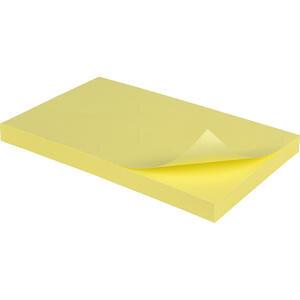 Post-it 655 Yapışkanlı Not Kağıdı 76 mm x 127 mm Sarı 100 Yaprak