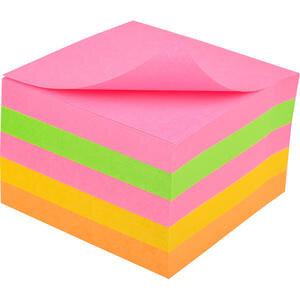 3M Post-it 654 SN 5 Neon Renk Süper Yapışkanlı Not Kağıdı 76 mm x 76 mm 450 Yaprak
