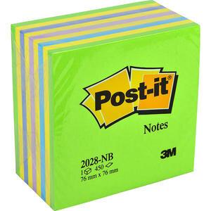 3M Post-it 2028 NB Yapışkanlı Not Kağıdı 76 mm x 76 mm Yeşil 450 Yaprak