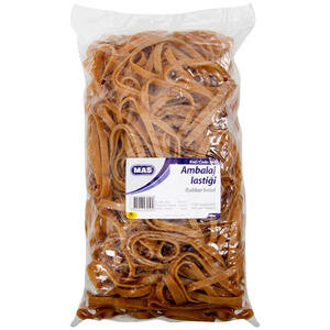 Mas 395 Geniş Paket Lastiği % 100 Kauçuk 500 gr