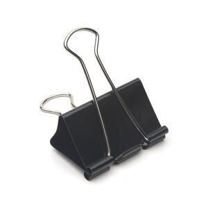 Mas 937 Omega Çelik Kıskaç 51 mm Siyah 12'li Paket