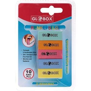 Globox Mini Blister Silgisi 10'lu Paket