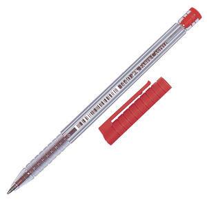 Faber Castell 1440 Tükenmez Kalem 0.8 mm Çelik Uçlu Kırmızı 10'lu Paket