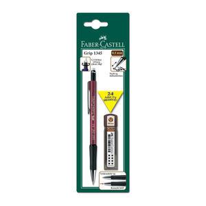 Faber Castell Grip 1345 2b Versatil Uçlu Kalem Seti 0.5 mm Siyah