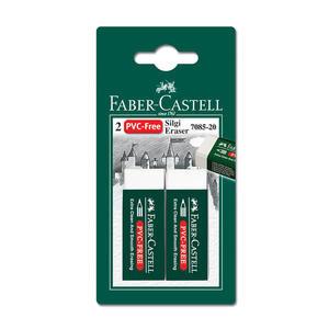 Faber Castell Plastik Silgisi Beyaz 2'li Paket