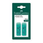 Faber Castell Kauçuk Silgi Yeşil 2'li Paket