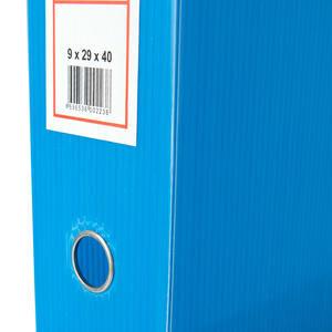Üçgen Arşivleme Kutusu 690 Sayfa Kapasiteli 29 cm x 40 cm x 9 cm Mavi
