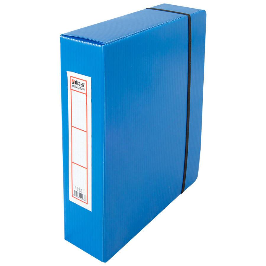 Ucgen Arsivleme Kutusu 500 Sayfa Kapasiteli 22 Cm X 31 Cm X 7 Cm