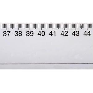 Ark Cetvel 50 cm Şeffaf