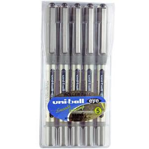 Uni-ball Ub-157 Eye Roller Kalem 0.7 mm Siyah 5'li Paket