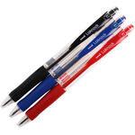 Uni-ball Sn-100 Laknock Tükenmez Kalem 0.7 mm Çelik Uçlu Karışık Renkli 3'lü Paket