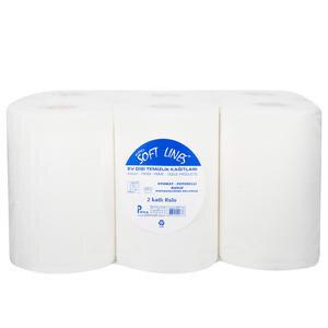 Softlines Hareketli Kağıt Havlu 25 cm 6'lı Paket