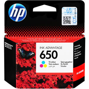 HP 650 Üç Renkli Kartuş CZ102AE