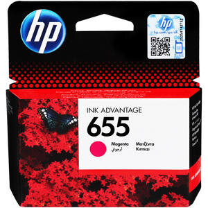 HP 655 Kırmızı (Magenta) Kartuş CZ111AE