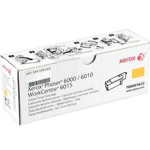 Xerox 106R01633 Phaser 6000/6010/WC6015 Sarı Toner 1000 sayfa