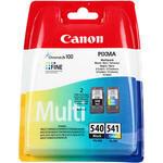Canon 540 Siyah / 541 Renkli Kartuş (2'li Paket) PG-540 + CL-541