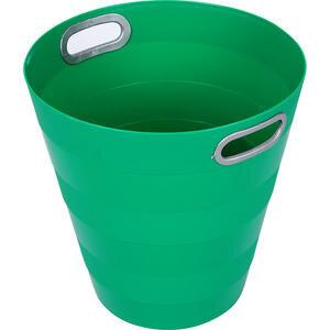 Ark 1051 Plastik Deliksiz Çöp Kovası Yeşil 12.5 lt