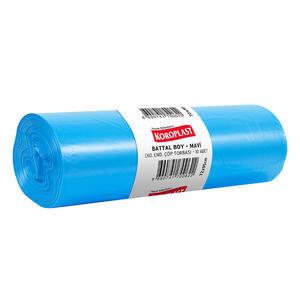 Koroplast Çöp Torbası Eko Endüstriyel Mavi Battal 72 cm x 92 cm 50'li Koli