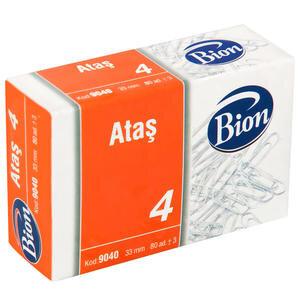 Mas 9040 Bion Ataş 33 mm No:4 80'li Paket