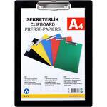 Ark 760 A4 Kapaksız Plastik Sekreterlik Siyah