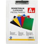Ark 760 A4 Kapaksız Plastik Sekreterlik Şeffaf