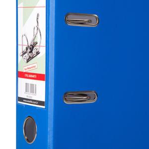 Manu 2030 Klasör Plastik Geniş A4 Mavi