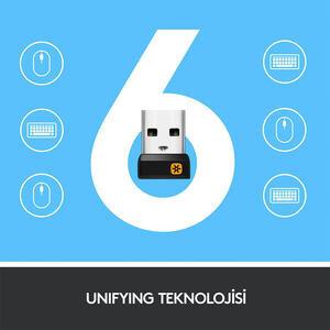 Logitech K400 Plus Touch Kablosuz Klavye Siyah 920-007149