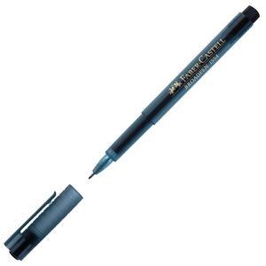 Faber Castell Grip Broadpen 1554 Keçeli Kalem 0.8 mm Siyah