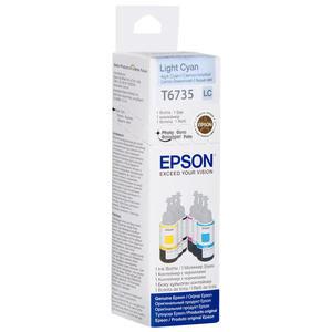 Epson L800 Kartuş Açık Mavi (Light-Cyan) 70 ml C13T67354A