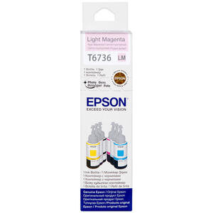 Epson L800 Kartuş Açık (Light-Magenta) 70 ml Kırmızı C13T67364A