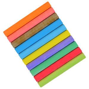 Robercolor Tebeşir Karışık Renkli 10'lu Paket