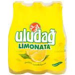 Uludağ Limonata Cam Şişe 250 ml 6'lı Paket