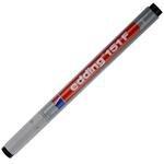 Edding 151F Asetat Kalemi Silinebilir Siyah 10'lu Kutu