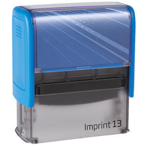Trodat Imprint 13 Kaşe 58 mm x 22 mm Mavi
