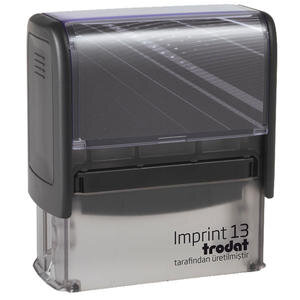 Trodat Imprint 13 Kaşe 58 mm x 22 mm Siyah