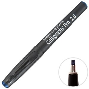 Artline Erg-242 Kaligrafi Kalemi 2 mm Mavi