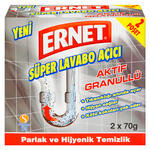Ernet Toz Lavabo Açıcı 2x70 gr