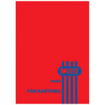 Umut Fon Kartonu 50 cm x 70 cm Kırmızı 100'lü Paket