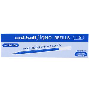 Uni-ball Signo Broad Um-153 İmza Kalemi Yedeği 1 mm Mavi 12'li Paket