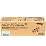 Xerox 106R01601 Phaser 6500/WC6505 Yüksek Kapasiteli Mavi Toner 2500 sayfa