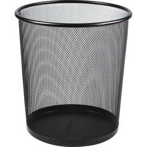 Globox Metal Çöp Kovası Delikli Siyah 11 lt
