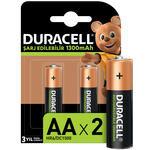Duracell AA Şarj Edilebilir Kalem Pil 2'li Paket