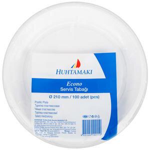Huhtamaki Plastik Tabak Eko 21 cm 100'lü Paket