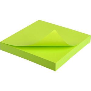 Hopax 21167 Yapışkanlı Not Kağıdı 76 mm x 76 mm Neon Yeşil 100 Yaprak