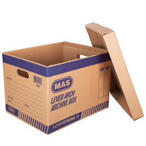 Mas 8200 Karton Arşivleme Kutusu 31 cm x 34 cm x 41 cm 10'lu Paket