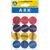Ark 1366 Kalemtıraş Yuvarlak Karışık Renk 12'li Paket