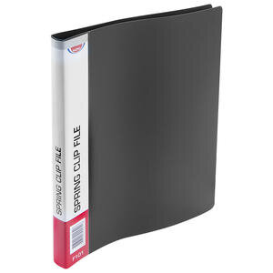 Noki F101 A4 Yaylı Dosya Mat Siyah