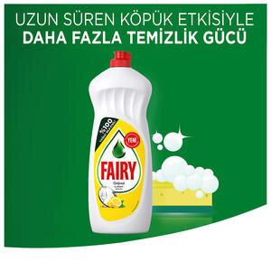 Fairy Elde Yıkama Bulaşık Deterjanı Limon 650 ml